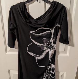 EUC WHBM Black Dress